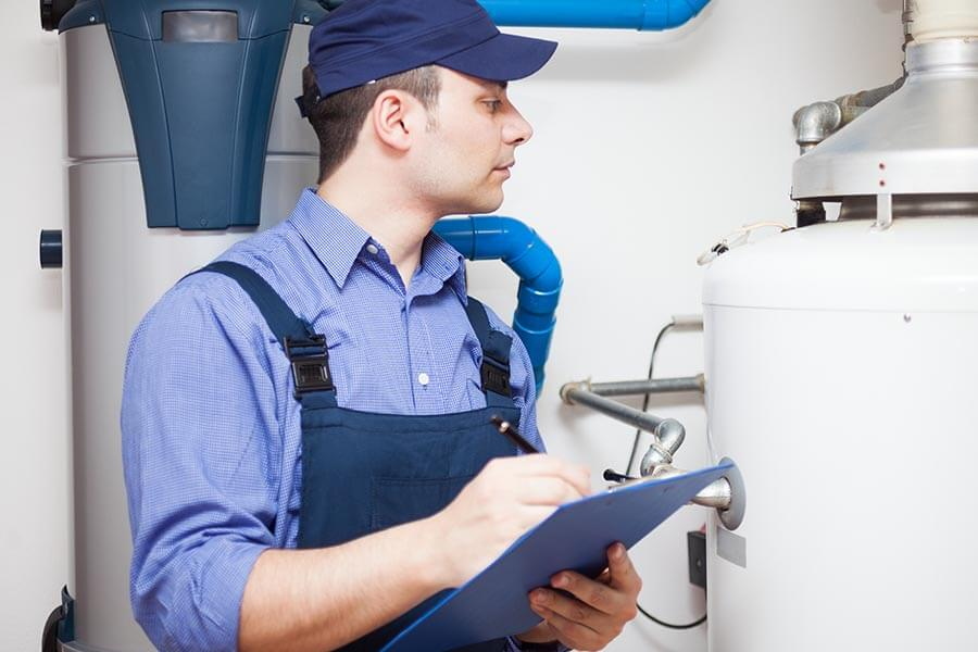 water heater inspections belleville il