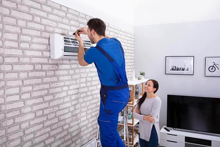 air conditioner installation granite city