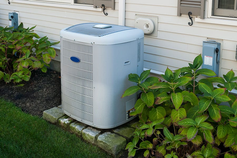 Brand new and clean air conditioner unit for home in Belleville, Illinois
