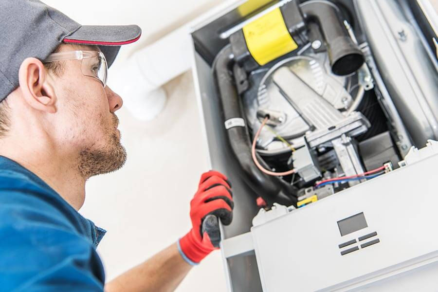 furnace installation and repair technicians in wood river il